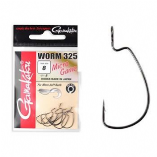 Gamakatsu Worm 325 Micro Game Weedless Hooks